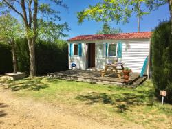 Location - Bungalow 45 - Camping du Bas Larin