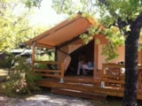 Rental - Tent Lodge - 2 bedrooms (without toilet blocks) - Camping Les Hauts de Rosans