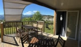 Rental - O'Hara Patio 2 bedrooms / 2 bathrooms + 2 WC / 2 TV - Camping Les Hauts de Rosans