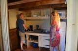 Rental - The Nest 3 Rooms / tent separated in the floor (forbidden children - of 6ans) - Camping Les Hauts de Rosans