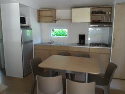 Location - Mobil Home Avec Clim 3 Chambres - Camping Les Sables