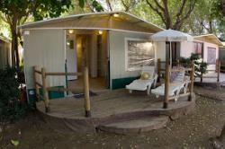 LODGE TENT CON BAÑO