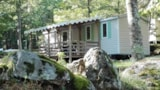 Rental - Mobilehome 2 bedrooms 24/26m² with terrace 12m² - Camping Les Rives de l'Ardèche