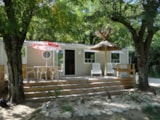 Rental - Mobile Home O'phea 3 Bedrooms - Air-Conditioning, Tv - Camping Aloha Plage****