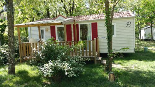 MH Louisiane 3 Ch bedrooms air-conditioning + TV 1/6 Ppl.