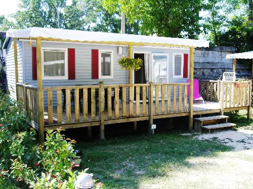 FIDJI Mobile Home 27sq.m. - Air-conditioned - 1/5 Ppl.