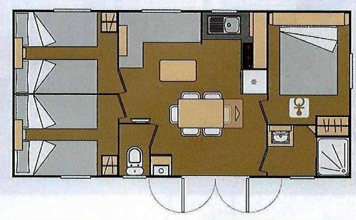 MALTA Mobile Home 30sq.m.- Air-conditioned - 1/6 Ppl.