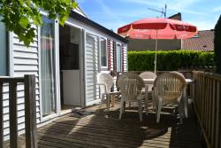 Huuraccommodatie - Stacaravan O'hara Grand Confort - Airconditioning - Camping Le Casque Roi