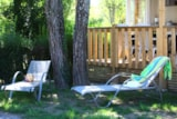 Rental - Mobilehome Riviera 2 Bedrooms, Arrival On Sunday In The High Season - CAMPING LA ROUBINE