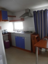 Rental - IB Mobile home Loft Rapidhome 30m² + air-conditioning 2 bedrooms - Camping Le Sous-Bois