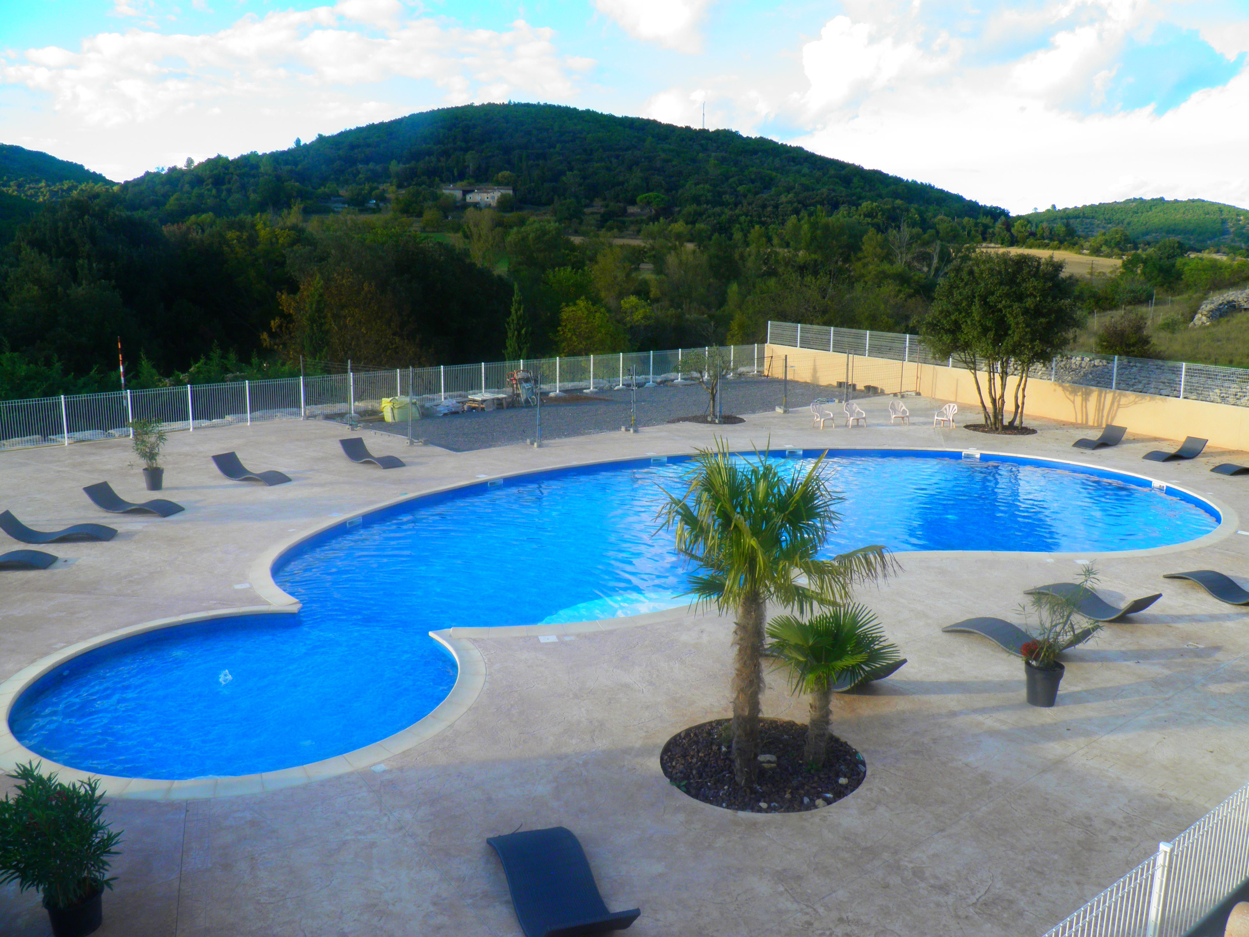 Mare, piscina Camping Le Sous-Bois - St Maurice D'ibie