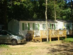 Location - Mobil Home 2 Chambres Standard - Camping La Grand'Terre