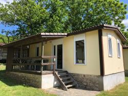 Accommodation - Chalet Type 1 - CAMPING LA DROBIE