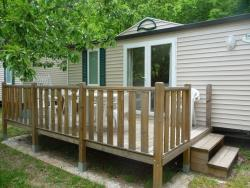 Accommodation - Mobile-Home - CAMPING LA DROBIE