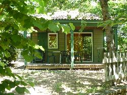 Huuraccommodatie - Chalet Eden - CAMPING LES CRUSES