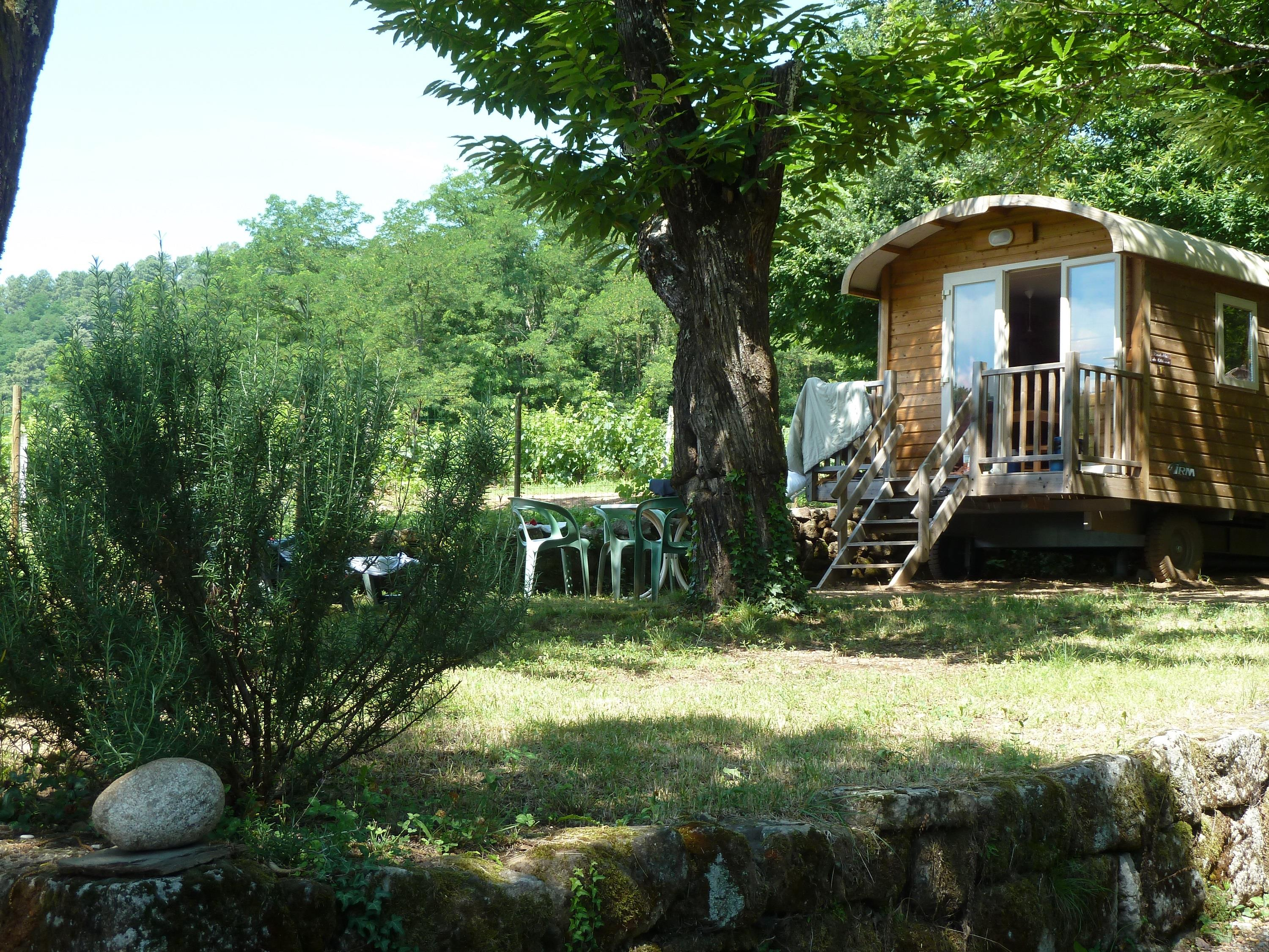 Camping les Cruses, Ribes, Ardèche