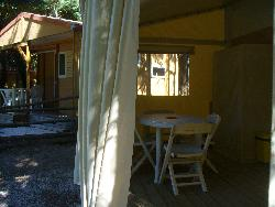 Accommodation - Chalet Tithom Without Toilet Blocks (2 Bedrooms/Equipped Kitchen) - Camping Le Matin Calme