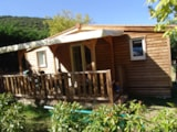 Rental - Cottage Bigarreau 26M² 2 Bedrooms - Camping Les Cerisiers du Jaur