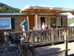 Wheelchair friendly Camping Les Cerisiers Du Jaur - Saint Pons De Thomières