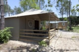 Rental - LODGE TENT 4p 2bdrms ** - Camping Sandaya Soustons Village