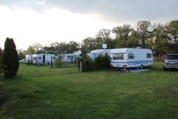 Pitch - Pitch 80-120 m² + camping-car or caravan or big tent + max. 5 kwh of electricity - Camping-Paradies Grüner Jäger