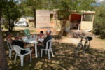 Alloggi - Eco-Lodge 5 pers - Camping Sites et Paysages LE PETIT LIOU