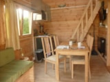 Rental - Chalet mezzanine-Covered terrace (mini 2 nights) - Camping du Vivier aux Carpes