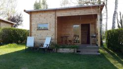 Iznajmljivanje  - Fishing Hut Covered Terrace (Mini 2 Nights) - Camping du Vivier aux Carpes