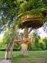 Rental - Romantic Treehouse Dame Alexandrine - Camping LE CLOS CACHELEUX