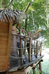 Rental - Romantic Oriental Treehouse - Camping Sites et Paysages LE CLOS CACHELEUX