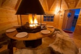 Rental - Chalet grills: the Finnish Kota, the friendly barbecue wood fire - Camping Sites et Paysages LE CLOS CACHELEUX