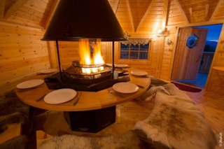 Chalet grills: the Finnish Kota, the friendly barbecue wood fire