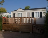 Rental - Mobile-home Louisiane FIRST 2012 25m² - 2 bedrooms - Camping du Pont de Bourgogne