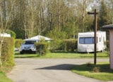 Pitch - Comfort Package (1 tent, caravan or motorhome / 1 car / electricity 6A) - Camping Le Bois Fleuri