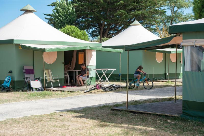 Camping le Platin, Rivedoux-Plage, Charente-Maritime