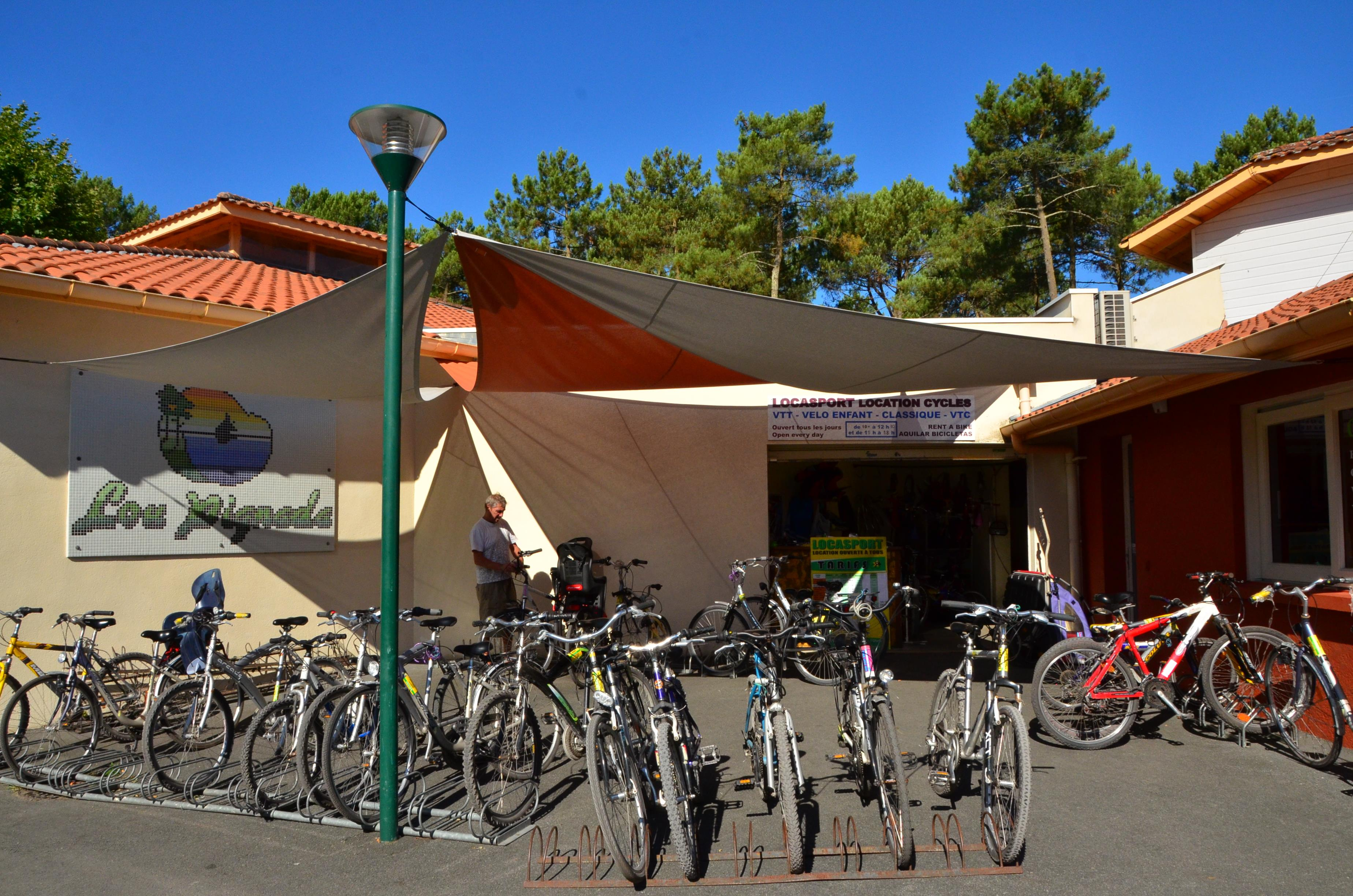 Services Camping Lou Pignada by Resasol - MESSANGES