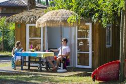 Accommodation - Natur'house 2 Bedrooms 20M² - Camping Sunêlia Les Oyats