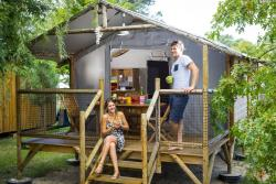 Accommodation - Safari Lodge 2 Bedrooms 23 M² - Camping Sunêlia Les Oyats