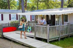 Accommodation - Cottage Confort 2 Rooms, People Reduced Mobility, 32M² - Camping Sunêlia Les Oyats