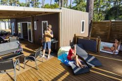 Accommodation - Cottage Premium Vip 3 Bedrooms 40M² - Camping Sunêlia Les Oyats