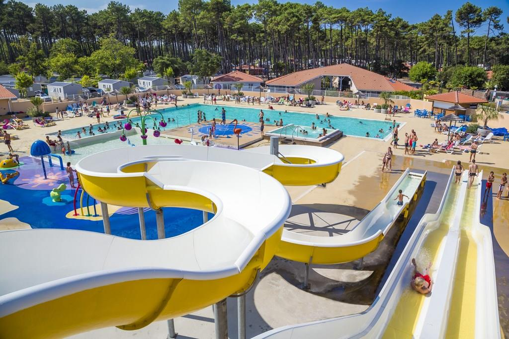 Mare, piscina Camping Les Oyats - SEIGNOSSE