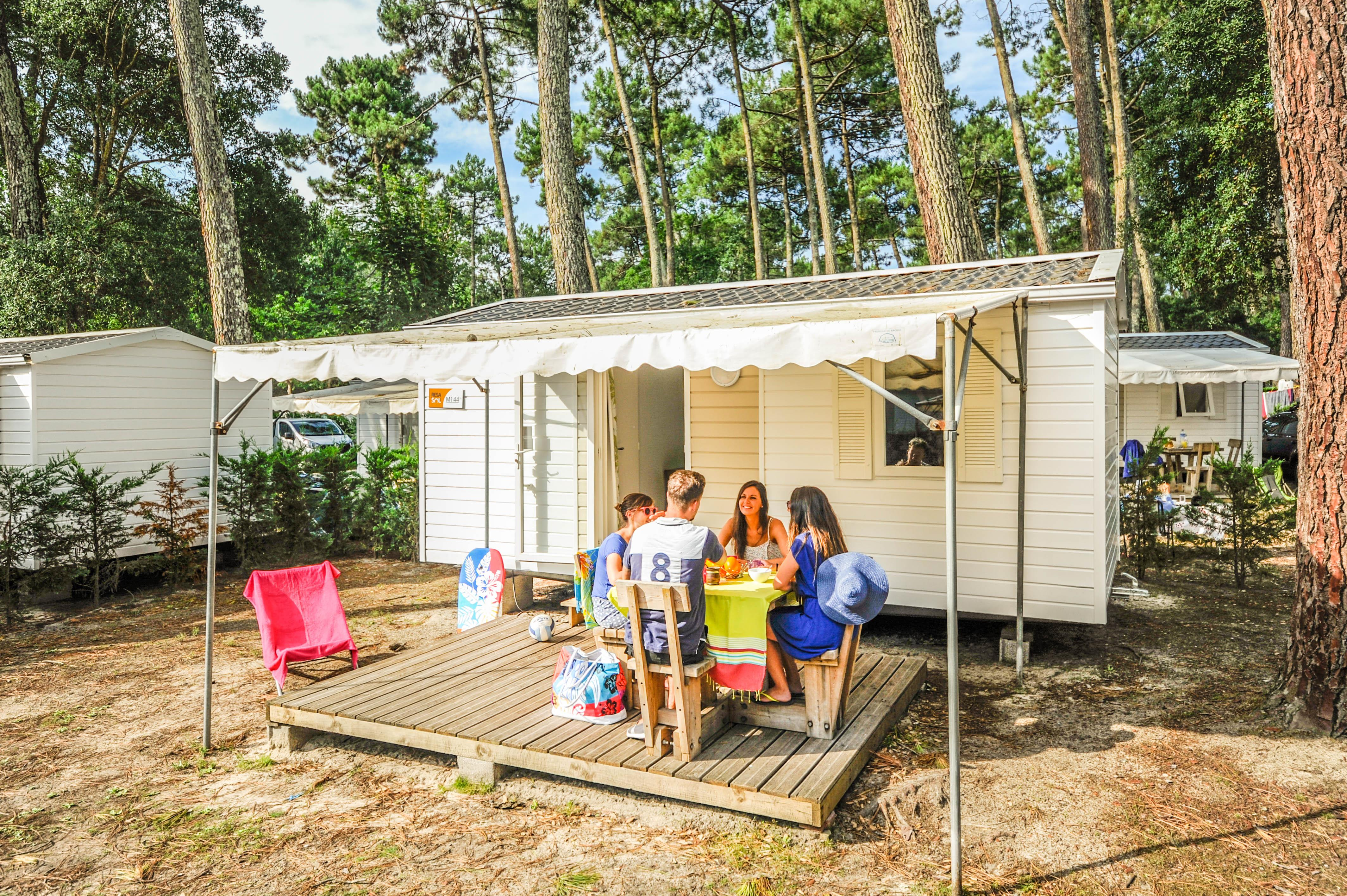Location - Mobil-Home Eco 2 Chambres - Camping Le Vieux Port