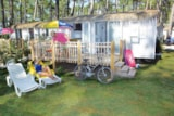 Huuraccommodaties - Mobil-home Tropical - Camping Le Vieux Port