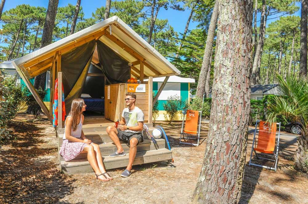 Location - Tente Duo - Camping Le Vieux Port