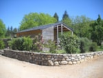 Rental - hut Châtaigner 23 m² - No bathroom - Camping La Dourbie