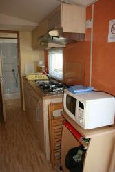Mobil home GENTIANE 4 personnes / 2 chambres / 25m2/ terrasse couverte-