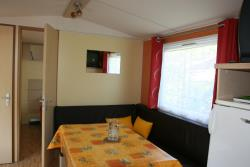 Accommodation - Mobile-Home Gentiane 2 Bedrooms/ 25M²/ Sheltered Terrace - Sites et Paysages Le Vaugrais