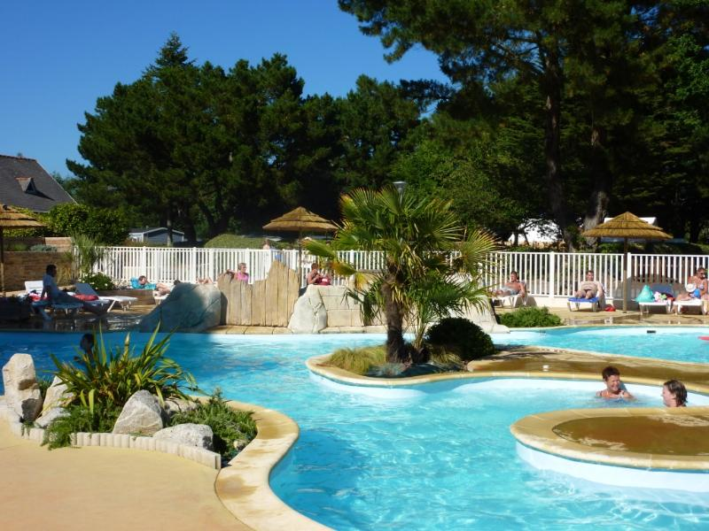 Mare, piscina Camping Kost-Ar-Moor - Fouesnant