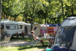 Pitch - Pitch standard + car + tent or caravan + electricity 6A + Water point - Campeggio del Sole