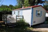 Rental - Mobil-home ECO 26m² - 2 bedrooms - Flower Camping L'Abri-Côtier